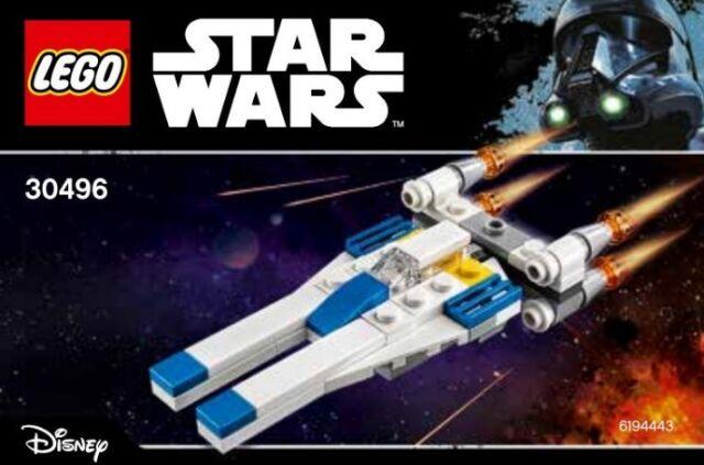 Lego 30496 Star Wars Mini U-wing Fighter Polybag 55pcs | eBay