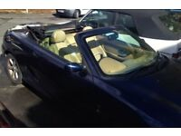 MG TF 135 Ps 1.8 petrol manual Convertible 2004