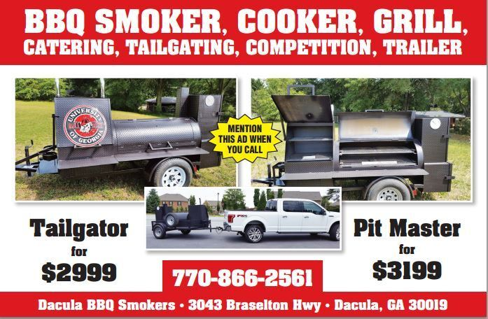 Award Winning Pro BBQ Smoker Grills