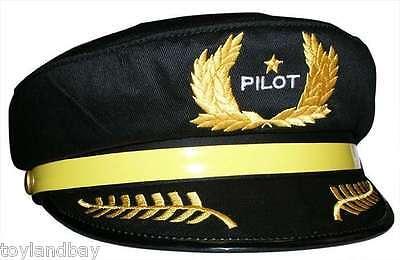 Pilot Hat Ht001 Souvenir Airline Youth Size Brand Crew Cap