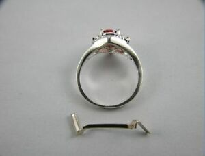 3 14k white gold ring guard ring tightener ring sizer ring