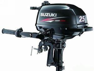 Moteur hors-bord Suzuki df 2.5   4 temps
