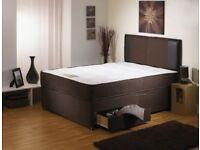 ***⚫***Ambassador Orthopedic Set**⚫ New 4ft6 or 5ft Divan Bed with 10 inch thick Orthopedic Mattress
