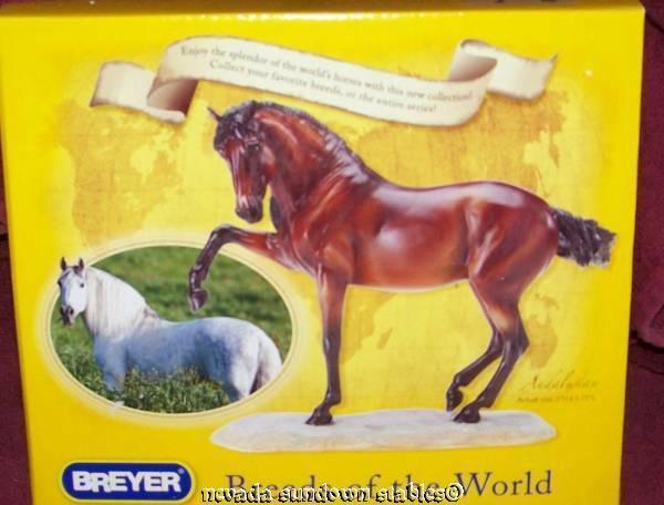 Breyer Model Horses Artist Resin Andalusian Horse