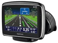 TOMTOM GO GOOD CONDITION GREAT WORKING ORDER ALL COMPLETE BARGAIN