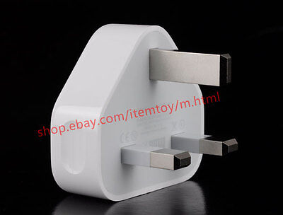 2x Original USB Power Adapter AC Wall UK Charger For App iPhon 7 6s 5s 5c  A1299