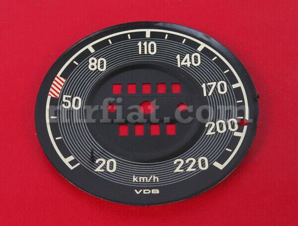 Mercedes W113 230sl 250sl 280sl Pagoda Speedometer Dial Plate New