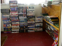 VHS Videos for Sale: Action/Thriller/Biopic