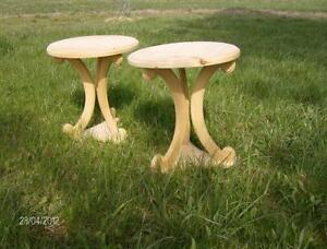 round sidetables 20.00 each