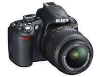 Nikon D3100 + Nikon 35mm f/1.8G *MINT CONDITION*