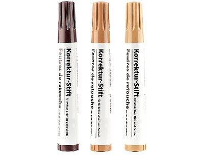 Reparatur-Stifte Reperatur-Stifte Korrektur-Stifte für Möbel aus Holz & Furnier