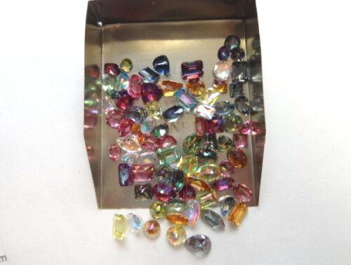 100Cts  Mixed Shape & Color Mystic Topaz Gemstone Lot