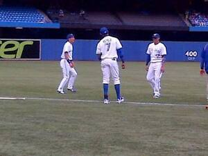 Jays vs Mariners TONIGHT  - Sct 122- Row 8 RIGHT BEHIND PLATE