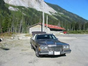 NOT RUSTED! 84 Cadillac, Brougham D'Elegance, newer s/blk V8