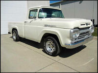 1960 Ford F100 in Concourse condition