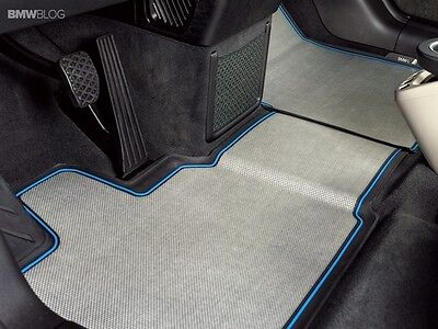 BMW Genuine Front and Rear All Weather Floor Mats i3 072819