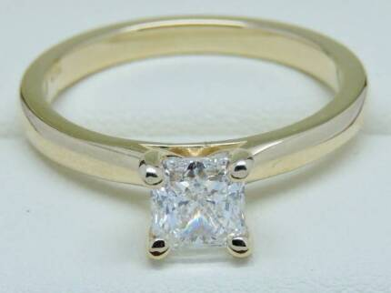 $18K GIA Certified 1 Carat Diamond Engagement Ring. D Colour!
