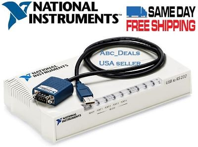 National Instruments USB-232/4 USB To Serial Port Adapter 187660G-11L USA seller