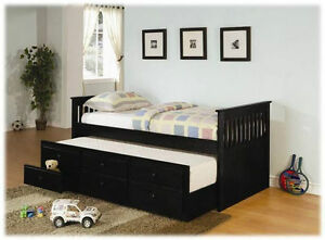 Free Delivery in Edmonton!!! Daybed with Storage Trundle
