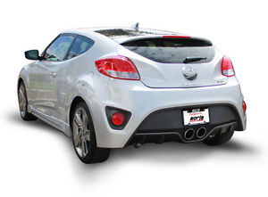 Borla Performance Exhaust 2013-2016 Hyundai Veloster 1.6 turbo