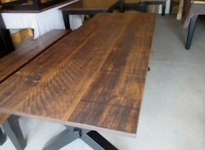 RUSTIC HARVEST TABLE WITH X BASE LAST WEEKEND THIS WEEKEND Kingston Kingston Area image 3