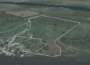 HOWE ISLAND - 32 Acres - BRING YOUR BUILDING PLANS!