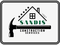 Roofing, bricklayers, bathroom fiters , kitchen fiters, plastering and more