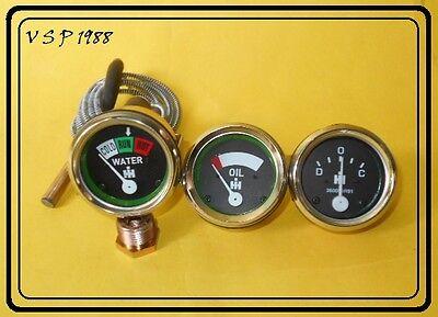 Ih Farmall Oil Pressure Gauge Temp Ammeter For A B Super A A1 Super C