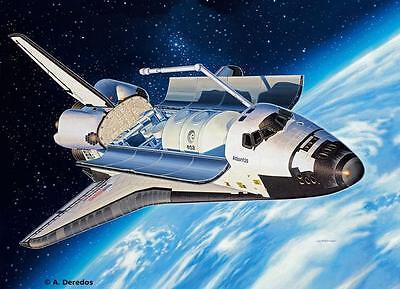 Revell Space Shuttle Atlantis 1:144 Revell 04544  X