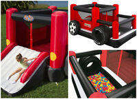 Bouncy Houses and Snack Machines