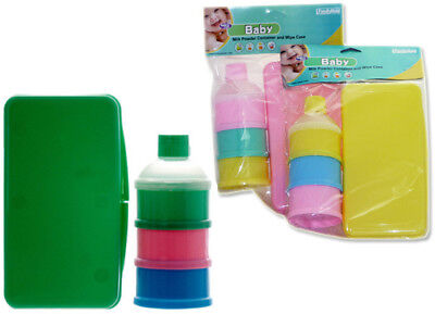 Baby Wipe Case & Formula Container Case Pack 12 Assorted Colors ()