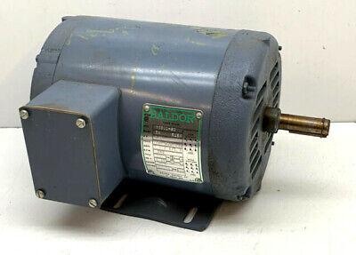 Baldor M3109 3-phase Ac Motor 12hp 1140rpm 208-220440v 2.5-2.41.2a 3-phase