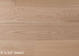 "5 x 3/4"" UNFINISHED ENGINEERED HARDWOOD FLOORING"