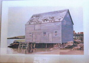 10 Canadiana Prints-'Vanishing Buildings of Canada' 1970 London Ontario image 7