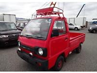 SUZUKI CARRY TRUCK PICK UP * ONLY 1792 MILES FROM NEW FROM JAPANESE FIRE BRIGADE