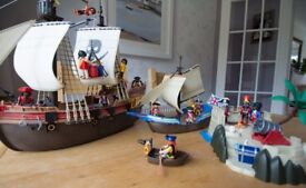 Playmobil Pirates & Redcoats Bundle, Figures and Accessories