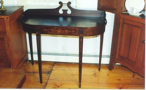 RARE FINE ANTIQUE PERIOD AMERICAN MAHOGANY SERVER 1780-1820