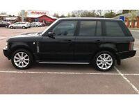 Beautiful Black Range Rover Vogue