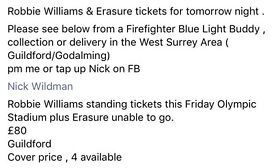 Robbie Williams and Erasure