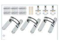 Door handles 3 pack x3 boxes enough for 9doors in your house