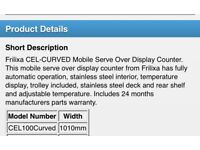 Fridge Frilixa CEL100CURVED Serve Over Counter