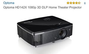 Home Theatre Projector and Screen