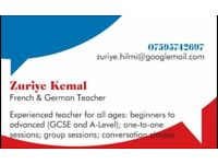 Experienced French and German Tutor