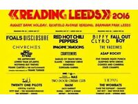 2 Full 3 Day Camping Camping Leeds Festival Tickets