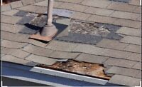Roof Doctor ~ missing shingle repairs~