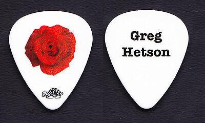 Bad Religion Greg Hetson Rose Guitar Pick - 2013 Tour