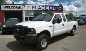2006 Ford F-250 Super Duty XL 4X4 Extended/Double Cab