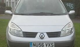 Silver Colour Renault Scenic 1.4 Petrol 54000, 2 keys, good clean car