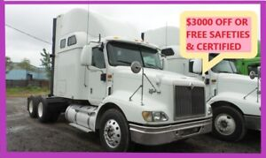 2007 INTERNATIONAL, NO DPF Free Safeties/Certified or $3000 OFF