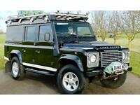 Land Rover 110 Defender 2.4TDi Utility XS Expedition Prepared